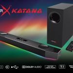 Creative soundblasterx katana