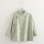 เสื้อทรงจีน พิมพ์ลาย (มีให้เลือก 3 สี)