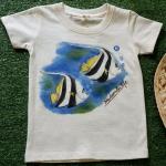 เสื้อยืดเด็ก เพ้นต์มือ (อายุ9เดือน-1ขวบ)