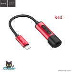 hoco LS6 Headphone Adapter (Red)