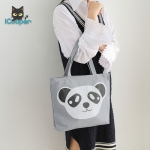 Canvas Handbag (Panda)