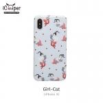 MAOXIN Japan Series Case - Girl-Cat (iPhoneX)