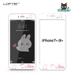 LOFTER Bunny Full Cover - White (iPhone8+/7+)