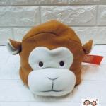 หมวกเด็กหน้าสัตว์ลายลิง