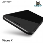 LOFTER Solid Color Bumper - Space Gray (iPhoneX)