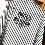 ผ้าคลุม Wahl สีขาว-ดำ