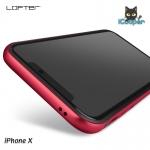 LOFTER Solid Color Bumper - Red (iPhoneX)