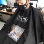 ผ้าคลุม Wahl สีดำ