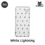 MAOXIN T-10 Power bank 20000mAh (White Lightning)