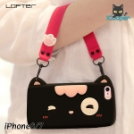 LOFTER Meow Silicone - Black (iPhone8/7)