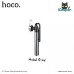 hoco E21 Bluetooth Headset (Metal Gray)