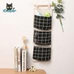 Cotton Hanging Bag (Black)