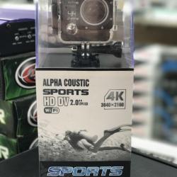 กล้องบันทึกวีดีโอ ยี่ห้อ Alpha Coustic HD DV 4 K พร้อมส่ง