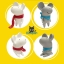 Semk - Mic Saving Bank (Rat Standing/Gray 20cm) thumbnail 3
