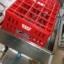 เครื่องล้างขวดน้ำดื่ม 24 หัวมีปั๊มพร้อมแผ่นล๊อคคอขวด