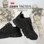 รองเท้า TACTICAL รองเท้าเดินป่า Runway No.3 สีดำ thumbnail 1