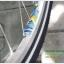 """ชุดล้อ 26"""" ดิส+วีเบรคดุม POWERWAY M80 ขอบ KINLIN 36 รู สีเงินสวยงาม thumbnail 8"""
