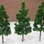 ต้นไม้ ขนาด 6.5 ซ.ม. สีเขียวเข้ม 10 ต้น thumbnail 1