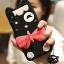 LOFTER Soft Silicone - Black Cat (iPhoneX) thumbnail 15