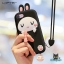 LOFTER Cute Rabbit Silicone - Black (iPhone8+/7+) thumbnail 4