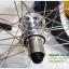 """ชุดล้อ 26"""" ดิส+วีเบรคดุม POWERWAY M80 ขอบ KINLIN 36 รู สีเงินสวยงาม thumbnail 9"""