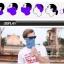 ผ้าหน้ากากปิดหน้า FACE MASK สำหรับนักปั่น thumbnail 5