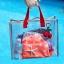 RONG.SHI.DAI Transparent PVC Bag (Red) thumbnail 11