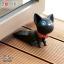 Semk - Kat Door Stopper (Black Cat) thumbnail 2
