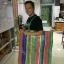 ผ้ากระสอบพลาสติก ผ้าฟาง ลายริ้ว 4สี ลายธงชาติ สายรุ้ง (52สี่สีเคลือบ 1หน้า หนาพิเศษ) หลาละ 25 บาท thumbnail 9