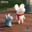 Semk - Mic Saving Bank (Rat Standing/Gray 20cm) thumbnail 2