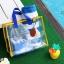 RONG.SHI.DAI Transparent PVC Bag (Red) thumbnail 4