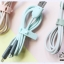 MAOXIN Two Line Charger Cable - Gray Green (Lightning + Micro USB) thumbnail 19