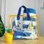 RONG.SHI.DAI Transparent PVC Bag (Red) thumbnail 8