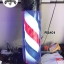 ไฟหมุน บาร์เบอร์ วินเทจ สีดำ RS#01 ขนาด 60 cm. thumbnail 1