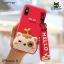 LOFTER Hello Meow Silicone - Red (iPhoneX) thumbnail 1