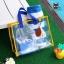RONG.SHI.DAI Transparent PVC Bag (Blue) thumbnail 1