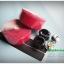 ผ้าพันแฮนด์เสือหมอบ EASYBIKE -KIVI / สีแดงผิวรังผึ้ง