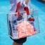 RONG.SHI.DAI Transparent PVC Bag (Red) thumbnail 16