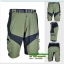 กางเกงขาสั้น ARSUXEO ผ้าแห้งเร็ว / สีเขียวแถบดำ thumbnail 2
