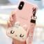 LOFTER Hello Rabbit Silicone - Pink (iPhoneX) thumbnail 3