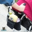 RONG.SHI.DAI Baby Stroller Hanging Bag (Black) thumbnail 6