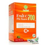 NatWell Fruit C+ Plu Kaow แนทเวลล์ ฟรุต ซี พลูคาว บรรจุ 10 ซอง