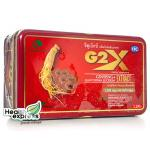 G2X จีทูเอ็กซ์ บรรจุ 60 แคปซูล สารสกัดจากโสมเกาหลี + เห็ดหลินจือ ผสมวิตามินและแร่ธาตุ