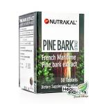 Nutrakal Pine Bark Extract นูทราแคล ไพน์ บาร์ค เอ็กซ์แทรก บรรจุ 30 เม็ด
