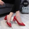 พร้อมส่ง รองเท้าคัทชู DC7015-RED [สีแดง]