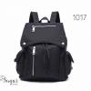 พร้อมส่ง กระเป๋าเป้ผู้หญิงสไตล์ญี่ปุ่น-1017 [สีดำ]