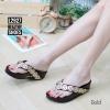 พร้อมส่ง รองเท้าแตะเพื่อสุขภาพ สไตล์ฟิตฟอป L2927C2-GLD [สีทอง]