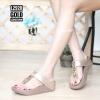 พร้อมส่ง รองเท้าเพื่อสุขภาพ ฟิทฟลอปหนีบ L2928-GLD [สีทอง]
