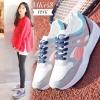 พร้อมส่ง รองเท้าผ้าใบผู้หญิง MK158-PNK [สีชมพู]