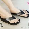 พร้อมส่ง รองเท้าสุขภาพ fitflop TE411-BLK [สีดำ]